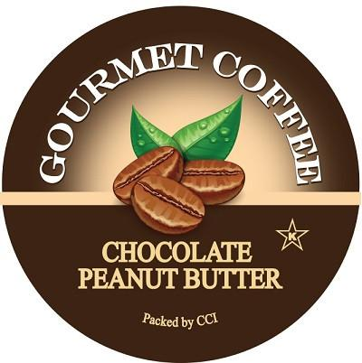 Chocolate Peanut Butter Flavored Coffee, Single Serve Cups for Keurig K-cup Brewers, 24 Count