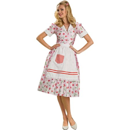 Adult 50s Housewife Costume Rubies 889612 - 50 S Costumes