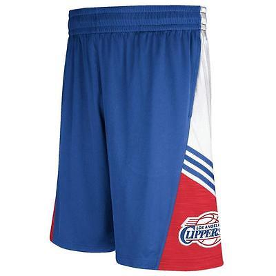 Los Angeles Clippers Adidas Men's Royal Blue Pre-Game Basketball Shorts