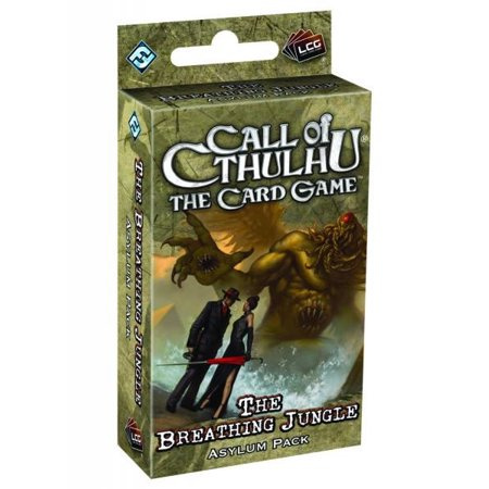 Call of Cthulhu the Card Game : The Breathing Jungle Asylum Pack