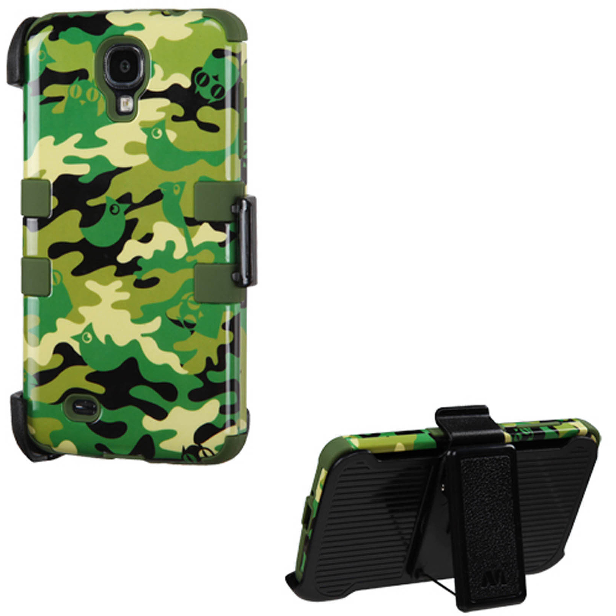 KTA Galaxy S4 Plastic Case with Holster