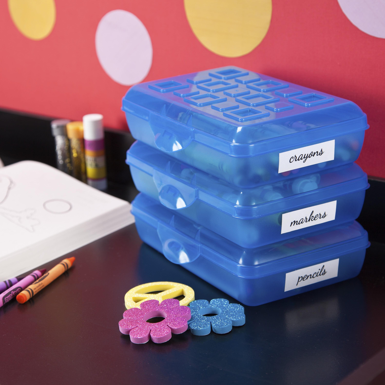 Sterilite Pencil Box - Teal