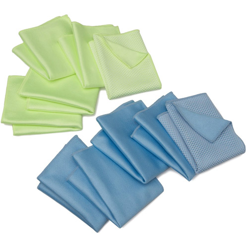 Zwipes Windshield, Mirror and Glass Microfiber Cleaning Cloths, 30pk