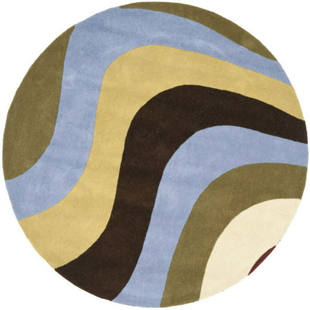Safavieh Rodeo Drive Hand-Tufted Wool Blue/Green/Brown Area
