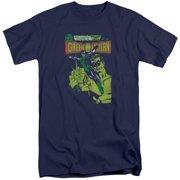 Green Lantern Vintage Cover Mens Big and Tall Shirt