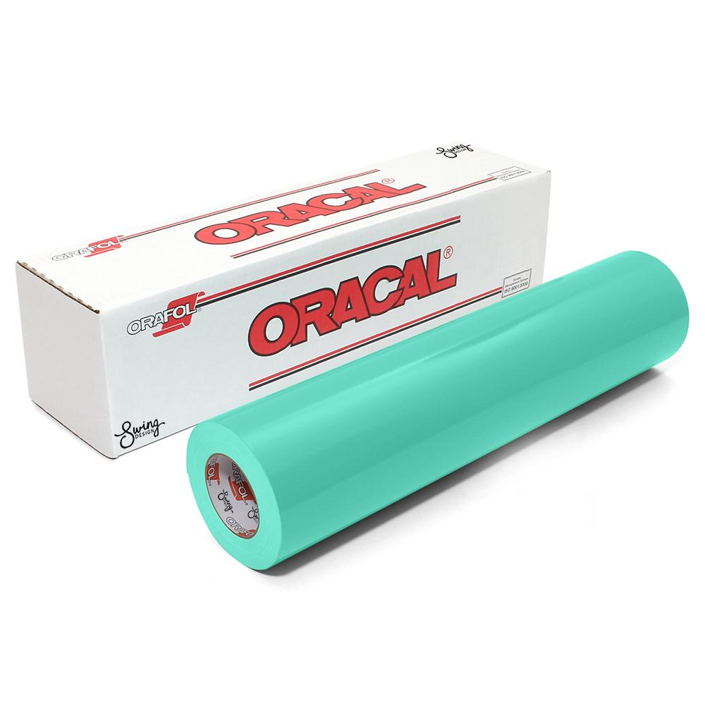 Oracal 651 Glossy Vinyl Rolls - Mint