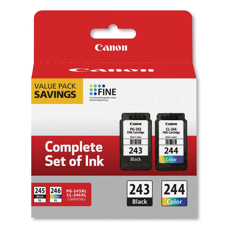 2 Pack Canon PGI-250PGBK XL High-Capacity Pigment Black Ink Cartridge