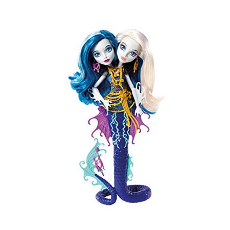 Monster High Great Scarrier Reef Peri & Pearl Serpintine
