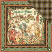 Enchanted Forest Double-Sided Cardstock 12 Inch X 12 Inch-Enchante