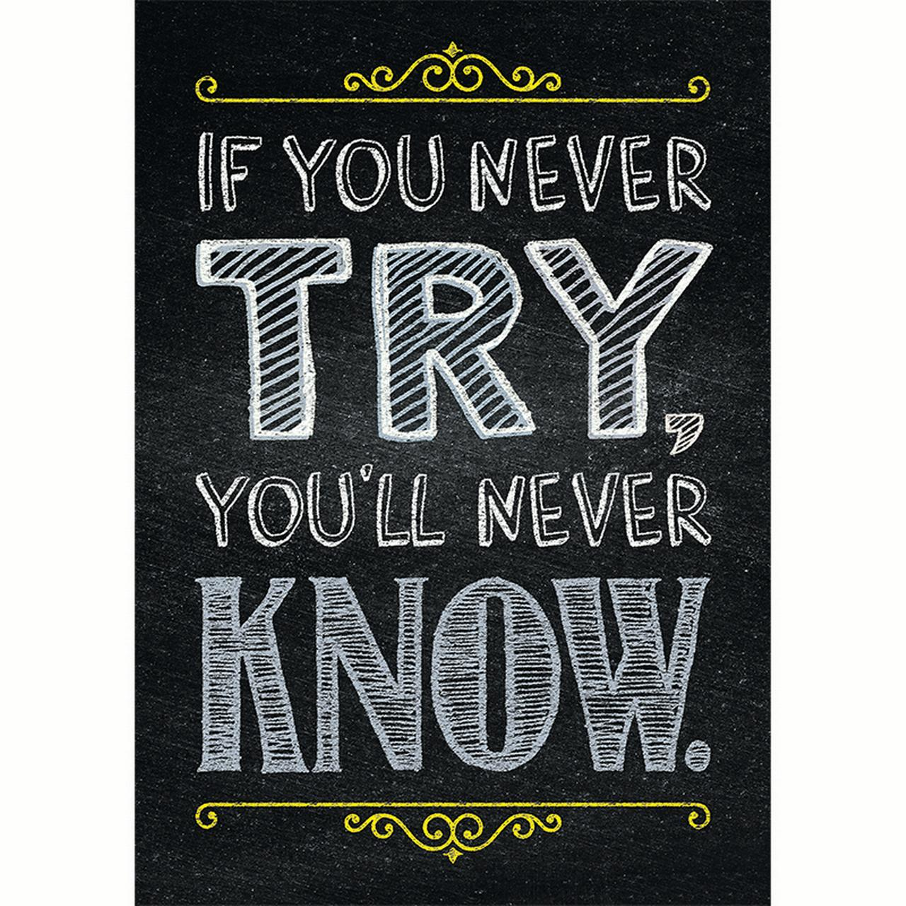 If You Never Try Poster - image 1 de 1