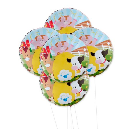 Barnyard 5pc Foil Balloon Kit](Barnyard Birthday Supplies)