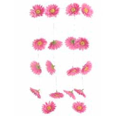 Club pack of 12 artificial hot pink gerbera daisy silk flower club pack of 12 artificial hot pink gerbera daisy silk flower garlands 6 mightylinksfo