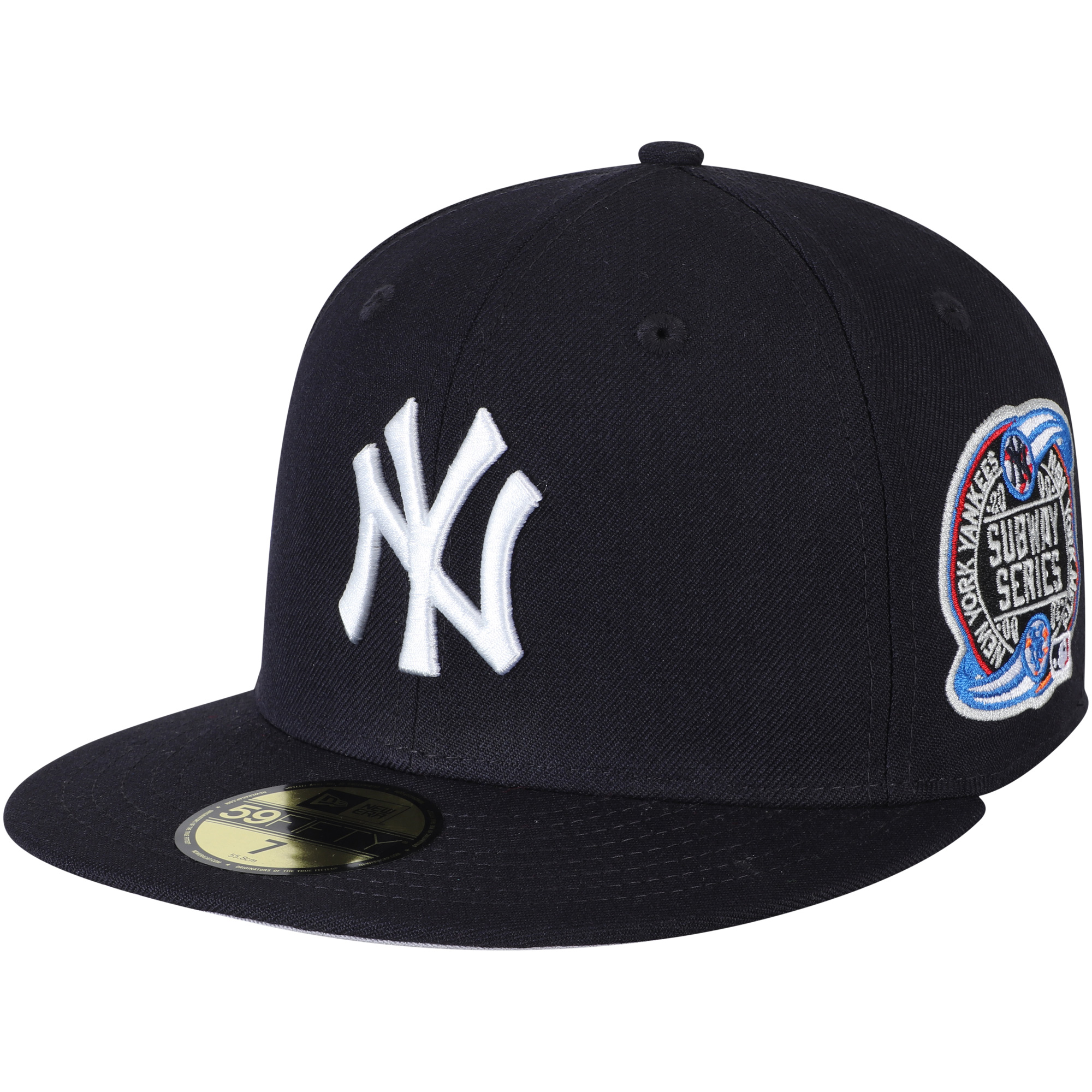 d2d131e22bb New York Yankees New Era 2000 World Series Wool 59FIFTY Fitted Hat - Navy -  Walmart.com