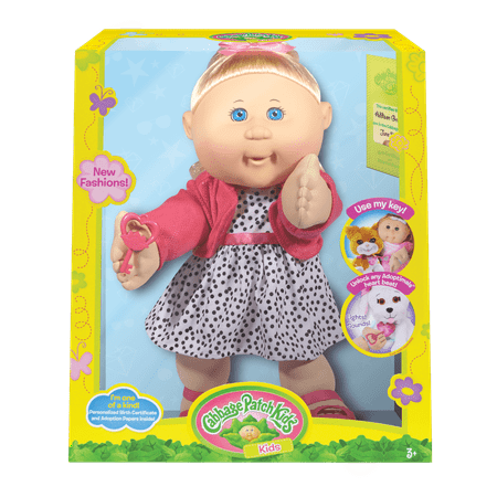 Cabbage Patch Kids Trendy Doll, Blonde Hair/Blue Eye Girl (Cabbage Patch Doll Patterns)