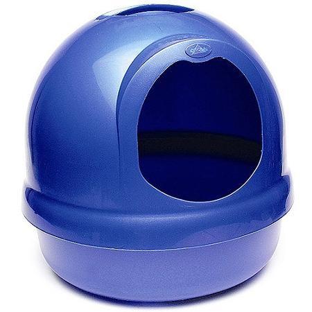 Dosckocil Petmate Aspen Pet Products Inc. Asp Litter Box Booda Dome Midnight Blue
