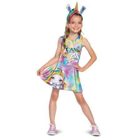 Unicorn Halloween Costume For Adults (Poopsie Girl's Unicorn Rainbow Bright Halloween)