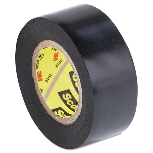 "Scotch Super 33+ Vinyl Electrical Tape, 3/4"" x 20' [PRICE is per ROLL] Multi-Colored"