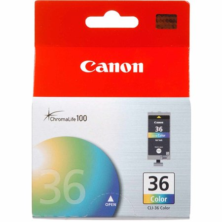 Canon CLI-36 Color Ink Cartridge (1511B002) Continuous Ink Supply System