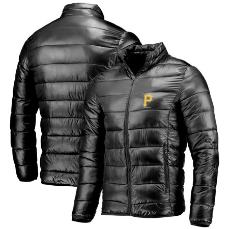 Pittsburgh Pirates Fanatics Branded Team Full-Zip Puffer Jacket - Black