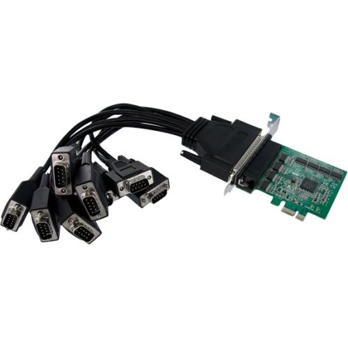 StarTech.com 8 Port Native PCI Express RS232 Serial Adapter Card with 16950 UART