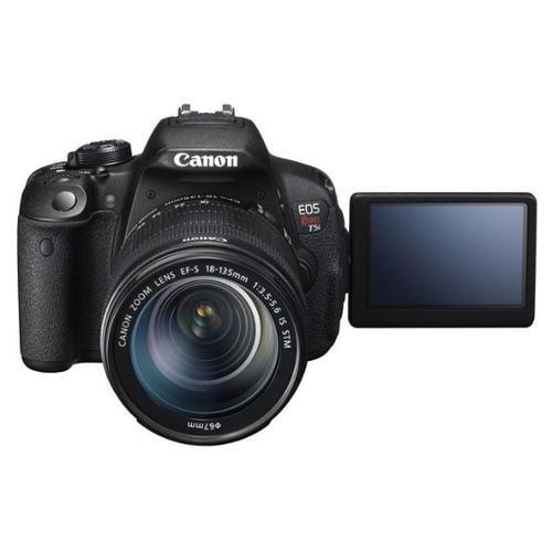 Canon EOS Rebel T5i 18 Megapixel Digital SLR Camera with Lens - 18 mm - 135 mm