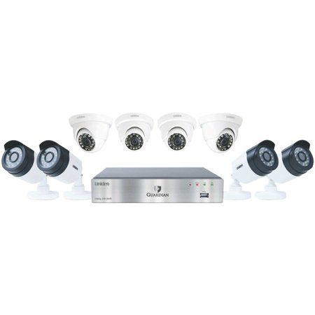 Guardian G7844d2 8 Channel 1080P 2Tb Surveillance System With 8 Cameras