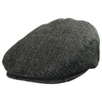 Product Image Kids  Herringbone Wool Blend Ivy Cap - M L - Charcoal 9b07a3612