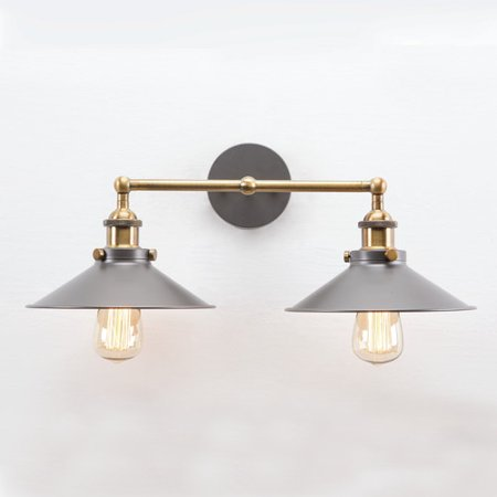 Yosemite Home Decor 2 Light Wall Sconce Walmartcom