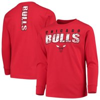 Youth Red Chicago Bulls Team Long Sleeve T-Shirt