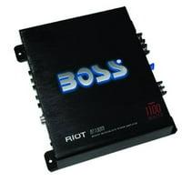 Boss Audio Systems AVA-R1100M RIOT 1100 Watts Monoblock Amplifier