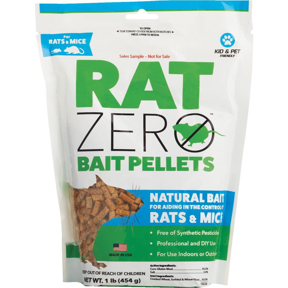 Rat Zero Bait Pellets, 1 LB