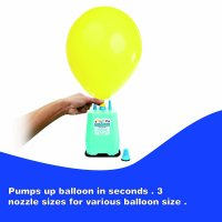 Way To Celebrate Triple Nozzle Electric Balloon Inflator