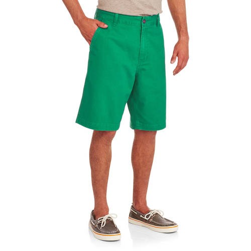 Men's Flat Front Twill Shorts