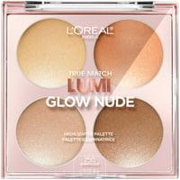 L'Oreal Paris True Match Lumi Glow Nude Highlighter Palette, Sunkissed