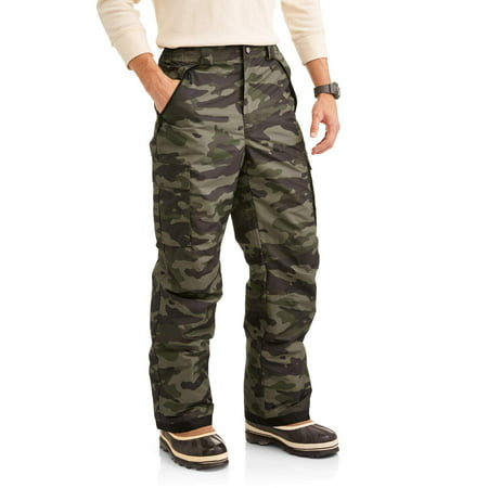 Iceburg Men's Cargo Snowboard Pant, up to Size 3XL