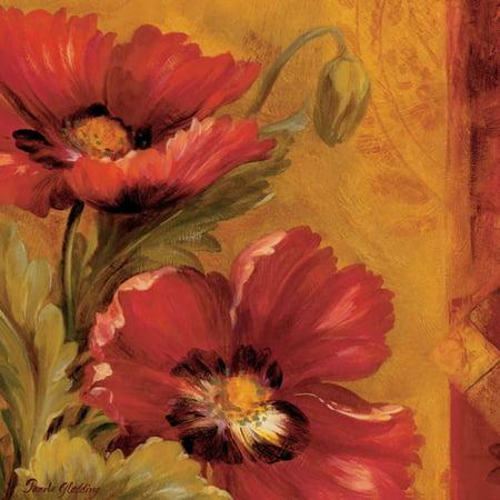Pamela Gladding Pandoras Bouquet - Pandoras Bouquet I Stretched Canvas - Pamela Gladding (24 x 24)