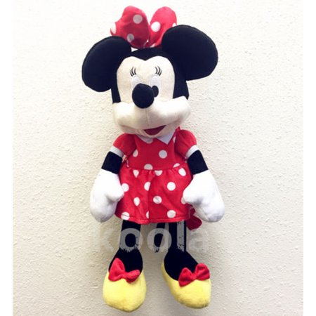 d6d68514696 MINNIE MOUSE PLUSH BACKPACK! FIGURE STUFFED TOY DISNEY 18