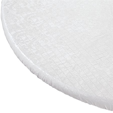 Elasticized Table Pad-White-48