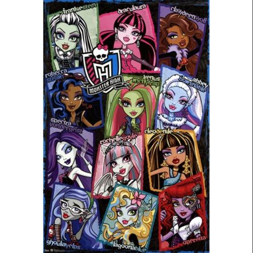 Monster High - Grid Poster Print (24 x 36)