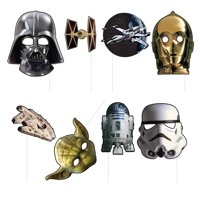 Star Wars Photo Booth Props, 8pc
