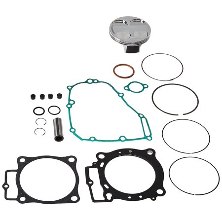 new vertex top end piston kit for honda crf 450 r 13 16 vtktc23855b. Black Bedroom Furniture Sets. Home Design Ideas