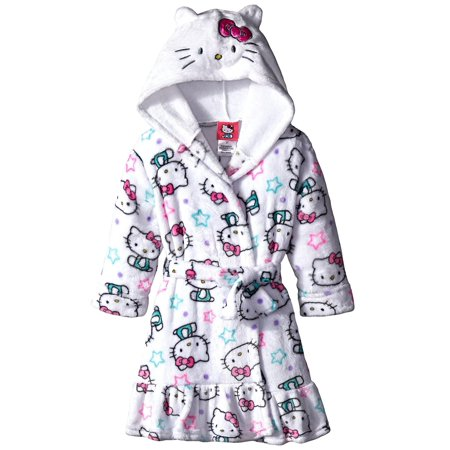 4a46c3a7f Hello Kitty - Komar Kids Big Girls' Hello Kitty Hooded Fleece Robe ...