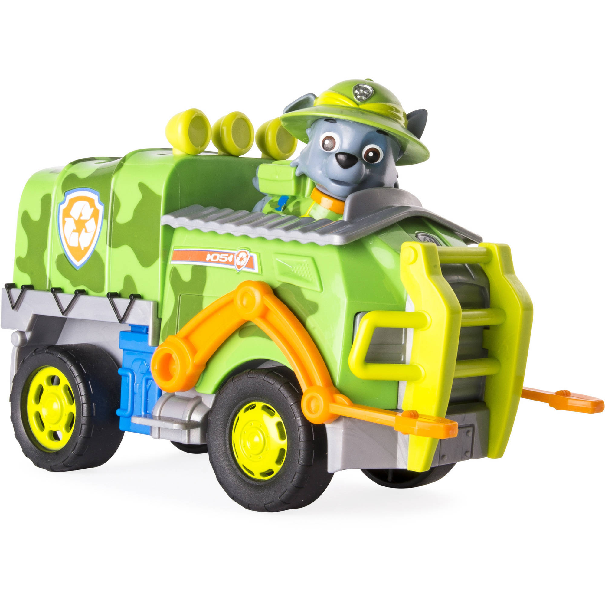 Nickelodeon Paw Patrol Rocky s Recycling Truck Vehicle and