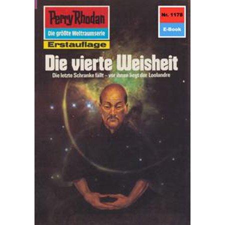 Perry Rhodan 1178: Die vierte Weisheit - eBook (1178 Glasses)