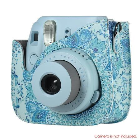 Andoer 14 in 1 Accessories Bundle for Fujifilm Instax Mini 8/8+/8s/9 with Camera Case/Strap/Sticker/Selfie Lens/Filter/Album/Photo Frame/Border Sticker/Corner Sticker/Pen, Blue - image 1 de 7