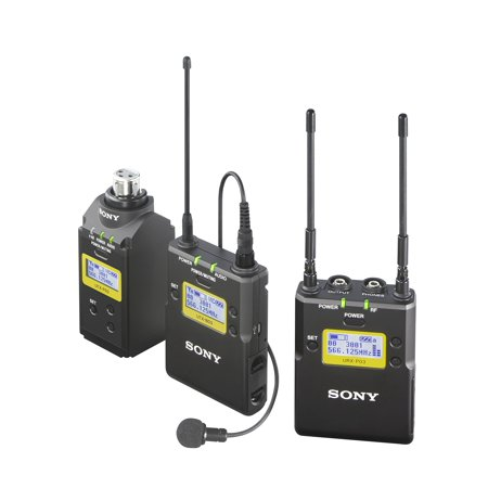 Sony - UWP-D16/30 - UWP-D16 Integrated Digital Plug-on & Lavalier Combo Wireless Microphone System (UHF Channels