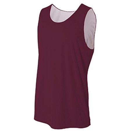 A4 N2375 Adult Performance Jump Reversible Basketball (Basketball Jersey Tank Shirt)
