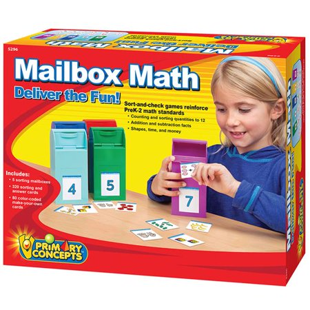 Primary Concepts PC-5296 Mailbox Math Set](Primary Concepts)