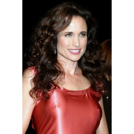 Andie Macdowell Revealing Skin Tight Red Dress 24x36 Poster ()