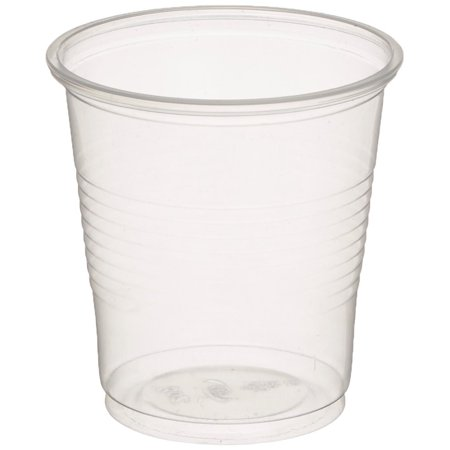 3.5 oz. Disposable Clear Plastic Cups, 600 Count - 3.5 Oz To Cups